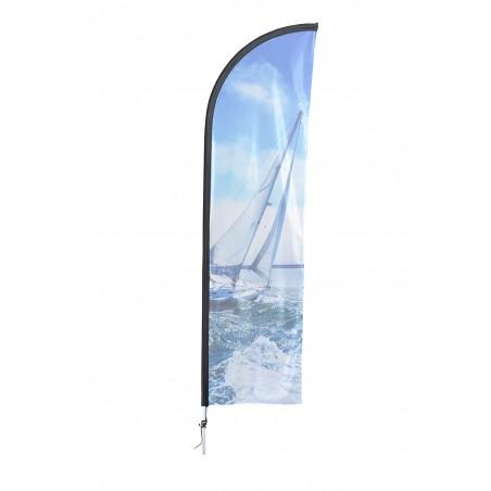 Aluminiowa Flaga plażowa M