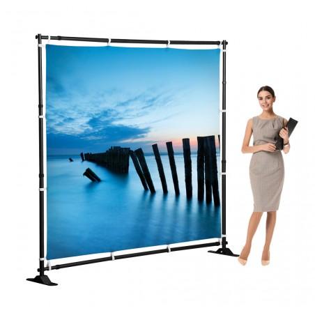 Ścianka reklamowa Mobilna Flex Wall 230x230cm