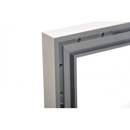 Eco Rama Aluminiowa 60x60cm czarna lub srebrna