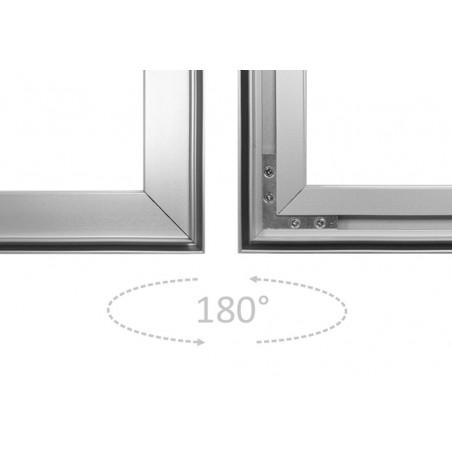 Aluminiowa Rama Business 150x200cm, dowolny wydruk, reklama, dekoracja