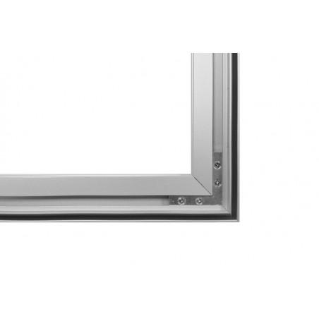 Stojąca rama z wydrukiem aluminiowa business 200x200cm, 2x2m