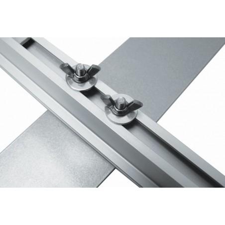 Business Rama Aluminiowa stojąca z wydrukiem, ścianka 250x300cm, 2,5x3m
