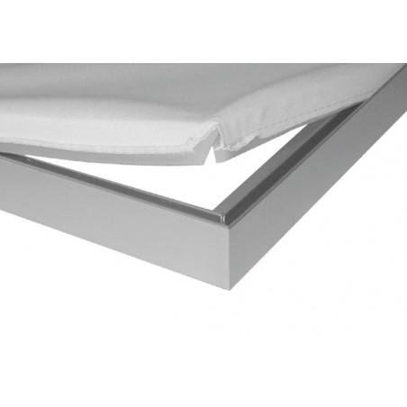 Rama stojąca z wydrukiem aluminiowa business 300x300cm, 3x3m