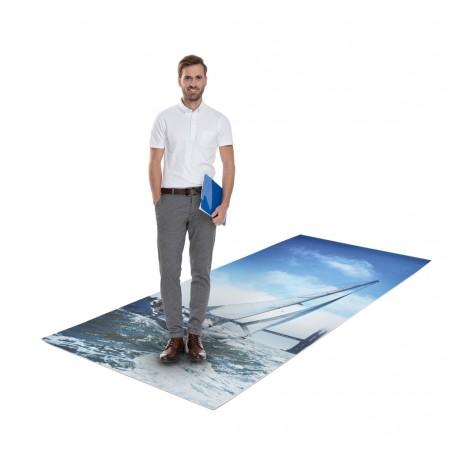 Pianka podłogowa, reklama na podłogę