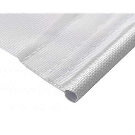 Baner reklamowy tekstylny Polyglans 115 g/m², przezierny