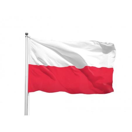 Flaga Polski na maszt, dowolny rozmiar