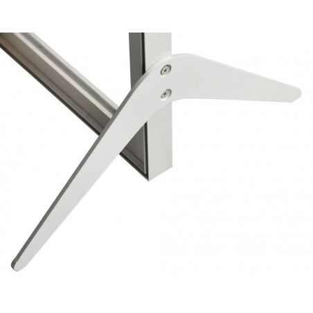 Podstawa metalowa Bumerang do Ram Aluminiowych Business stojących