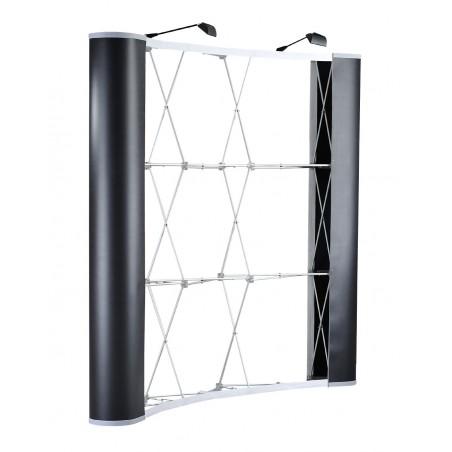 Ścianka Pop-up Łukowa 350x225cm z oświetleniem