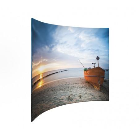 Ścianka Łukowa Zipper Wall 298x237cm zapinana na suwak z torbą