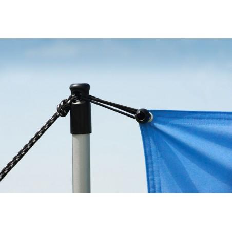 System wystawienniczy zewnętrzny dwustronny H-Fix 300x100cm