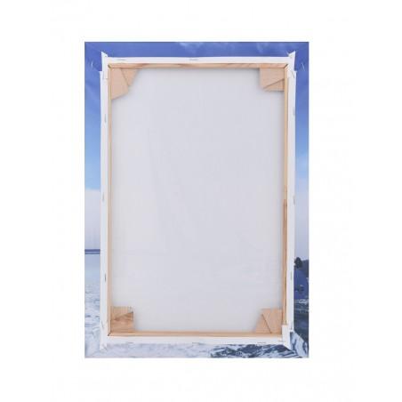 Obraz 50x50cm Rama Drewniana na Polycanvas przypominającym płótno malarskie